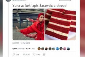 Netizen umpamakan fesyen dengan kek lapis, tapi ini jawapan 'cool' Yuna