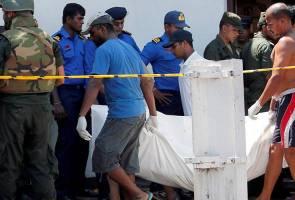Angka korban serangan Sri Lanka disemak semula, berkurangan 106 mangsa