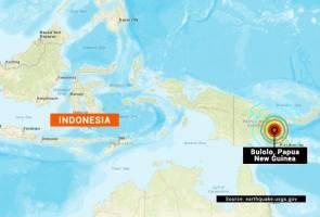 Gempa bumi kuat gegar Papua New Guinea