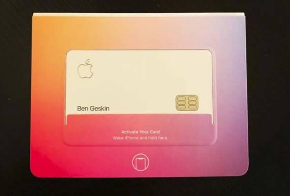 Pengguna Twitter, Ben Geskin telah berkongsi beberapa gambar dan sampul pembelian Apple Card di laman Twitter beliau.