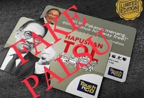 TNG nafi keluar kad edisi terhad gambar Anwar Ibrahim