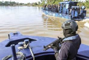Polis tingkat kawalan sempadan M'sia-Thai sempena Aidilfitri