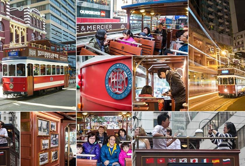 Trem Hong Kong disediakan sebagai salah satu strategi daya tarikan pelancong di kawasan terpilih