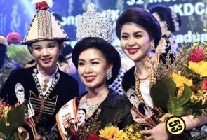 Francisca Ester Nain dimahkota ratu Unduk Ngadau Kaamatan 2019