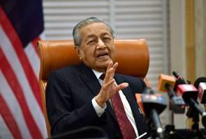 Sokongan merosot kerana PH tidak beri rasuah - Tun Mahathir
