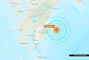Gempa 6.3 magnitud gegar barat daya Jepun