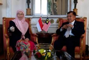 Wan Azizah, Jusuf Kalla bincang isu kepentingan bersama