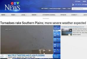 Puting beliung badai beberapa kawasan di Dallas
