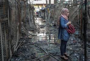 Tragedi kebakaran Jalan Masjid India, ramai sedih tak dapat 'shopping' raya