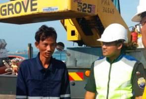 Nelayan Kemboja diselamatkan selepas lebih 24 jam terapung di laut