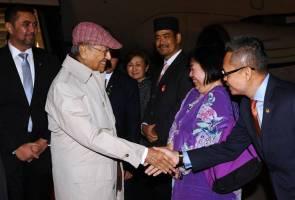 PM Mahathir tiba di Tokyo untuk lawatan kerja tiga hari