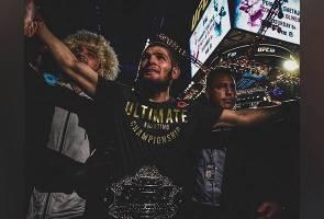 UFC 242: Khabib dan pasukan sudah berlepas ke Abu Dhabi?