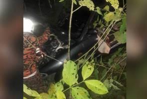 Pekerja kontrak RAPID Pengerang maut, kereta jatuh gaung