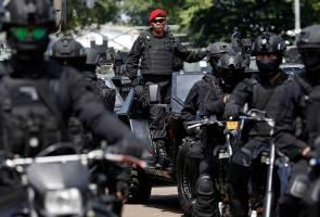 Lebih 32,000 tentera dikerah susulan amaran keganasan di Jakarta