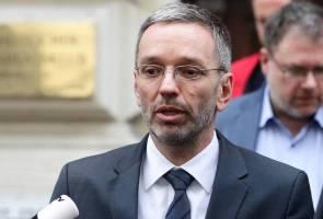 Skandal video rasuah: Semua menteri parti kebebasan Austria berundur dari kabinet