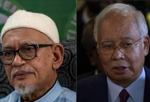 Najib dan Hadi sembah takziah atas kemangkatan Paduka Ayahanda Sultan Haji Ahmad Shah