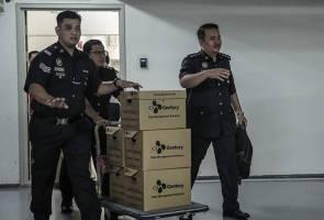 1MDB: Polis serbu pejabat Deloitte