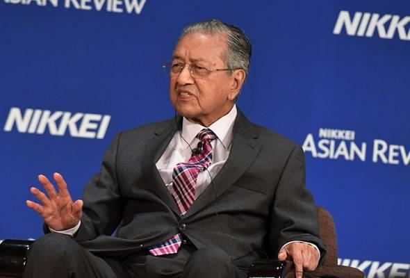 AS perlu terima hakikat, Huawei mendahului produk mereka - Tun Mahathir