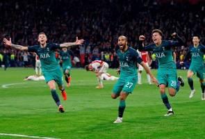 Tottenham mara ke final Liga Juara-Juara