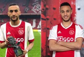 2 pemain Ajax ini sempat buka puasa di padang ketika aksi Liga Juara-Juara