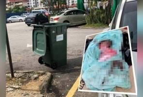 Bayi lelaki dijumpai dibuang dalam tong sampah di Pandan Indah