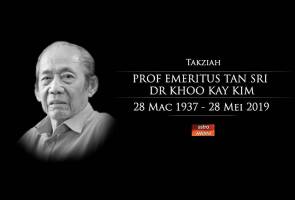 Sejarawan negara Khoo Kay Kim, 82, meninggal dunia
