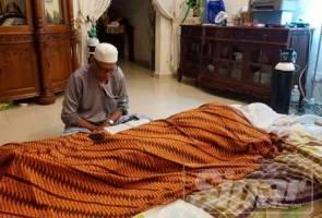Isteri Musa Hassan sediakan kain kafan sebelum meninggal dunia