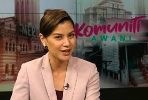 Lisa Surihani gementar jadi penyampai berita