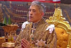Raja Vajiralongkorn secara rasmi ditabal sebagai Raja Thailand