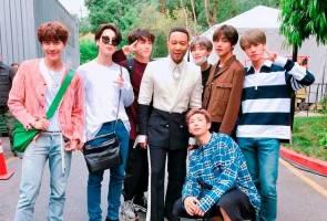 Apa makna di sebalik pertemuan BTS dan John Legend?