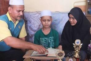 Kanak-kanak masalah penglihatan tanam impian jadi guru taranum
