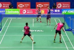 Piala Sudirman: China terlalu ampuh buat Malaysia