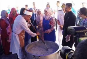 Mufti Wilayah Persekutuan teruja dapat ilmu bubur lambuk daripada Raja Permaisuri Agong