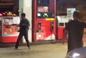 Lelaki mengamuk disuruh tidak merokok, ugut bakar stesen minyak di Chukai