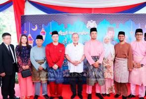Sultan Johor terima kunjungan kepemimpinan PH Johor pada pagi Aidilfitri