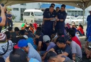 65 warga asing ditahan dalam operasi bersepadu