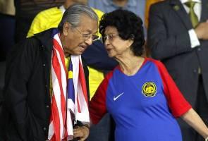 Saya bertuah Siti Hasmah sentiasa di sisi - Tun Mahathir