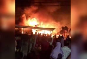 Lima buah rumah hangus terbakar pada 1 Syawal