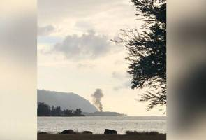 11 maut, pesawat pasukan payung terjun terbakar dan terhempas sejurus berlepas