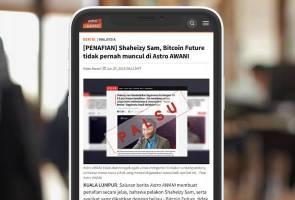 Semak Fakta: Polisi pembetulan Astro AWANI di platform digital