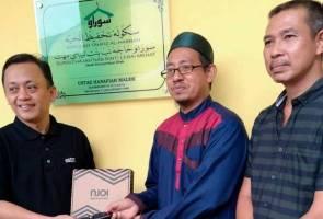 Astro NJOI percuma untuk Sekolah Tahfiz Al-Habbah