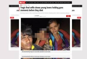 Cinta terlarang, pasangan kekasih sempat selfie dulu sebelum bunuh diri