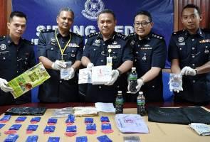 Polis tahan dua lelaki antara pengedar dadah terbesar di Terengganu