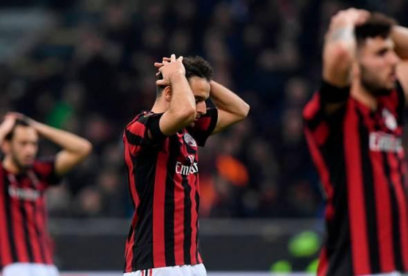 Sebelum ini, Milan berjaya membuat rayuan ke atas penggantungan dua tahun oleh UEFA tahun lepas selepas didapati bersalah melanggar peraturan perbelanjaan antara tahun 2015 dan 2017. - Sumber foto REUTERS/Alberto Lingria | Astro Awani