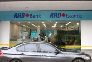 Bank lesap RM130,000 dalam 5 minit
