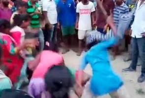 Penduduk kampung belasah dua beranak sehingga mati