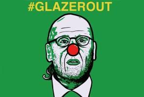 #GlazerOut: Kempen halau pemilik Manchester United diperhebatkan