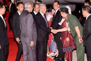 ASEAN 2019: Tun M tiba di Bangkok untuk lawatan kerja 4 hari