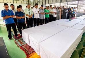 15 jenazah orang asli Kuala Koh dikebumi hari ini