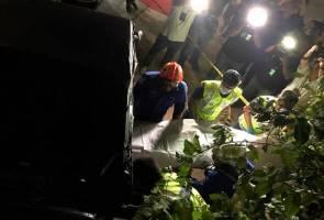 Tanah runtuh Tanjung Bungah: Mayat keempat ditemui, operasi SAR ditamatkan